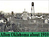 Views of Afton,Oklahoma in 1910