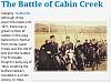The Battle of Cabin Creek