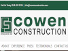Cowen Construction - Commercial and Residential Contracting in Oklahoma for over 100 years.