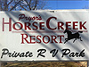Pryor's Horse Creek Resort