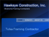 Hawkeye Construction, Inc. is a framing and siding contractor.
