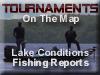Fishing Tournaments on a map