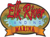 Elk River Landing Marine Grand Lake Oklahoma Map