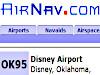 AirNav: OK95 - Disney Airport
