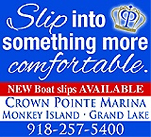 Slip into something more comfortable. Boat Slips at Crown Pointe Marina.